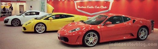 Supercars in Attendance at Times Auto Expo in Chennai