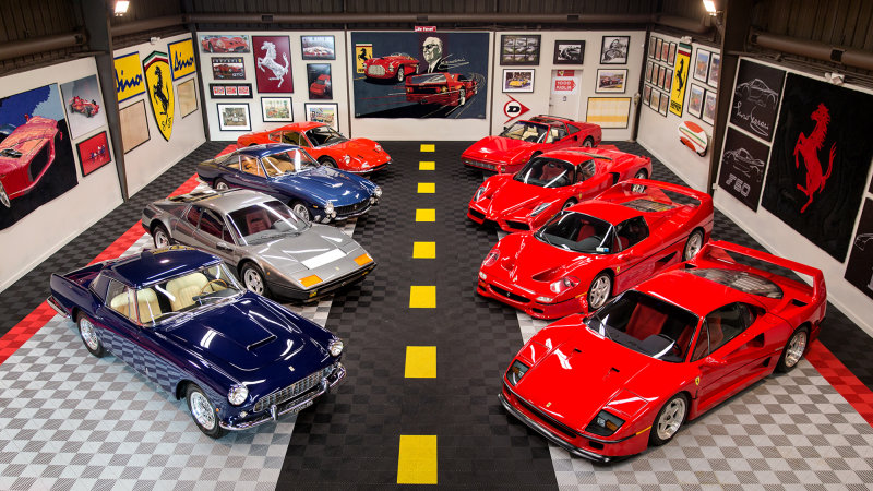 Incredible $12 Million Ferrari Collection up for Auction
