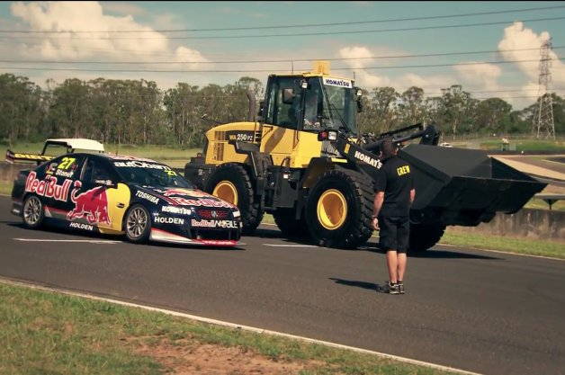 Top Gear Pits V8 Supercar Against Stunt Plane, Komatsu Tractor