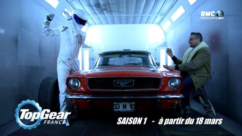 Top Gear France Gets le Video Traileur