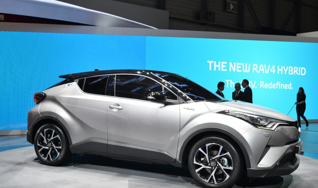 Toyota C-HR To Make Spanish Debut At Madrid Auto 2016