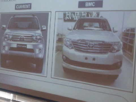Toyota in discussion with Japanese HQ for launching Innova and Fortuner facelifts