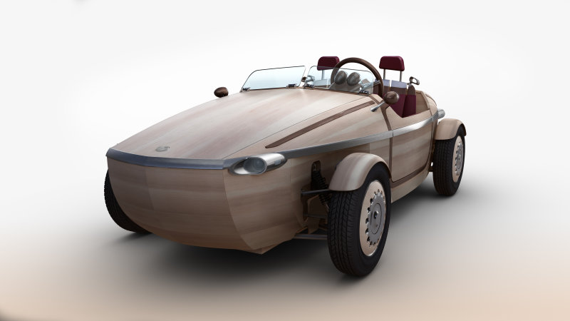 The Wooden Toyota Setsuna Lumbers Into Milan Design Week