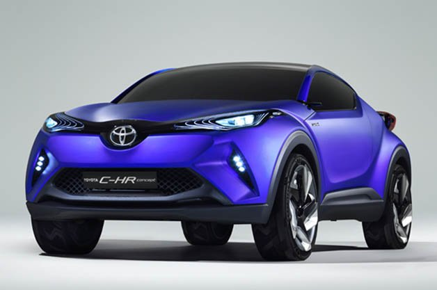 Toyota C-HR Hybrid Crossover Coupe Concept Leak Ahead of Paris