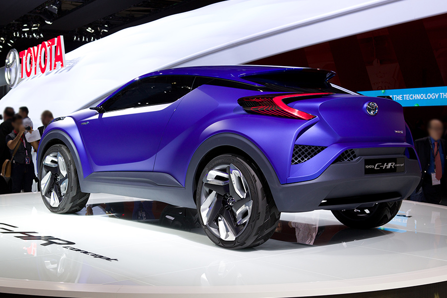 Production-Spec Toyota C-HR Crossover Could Be Built in Turkey