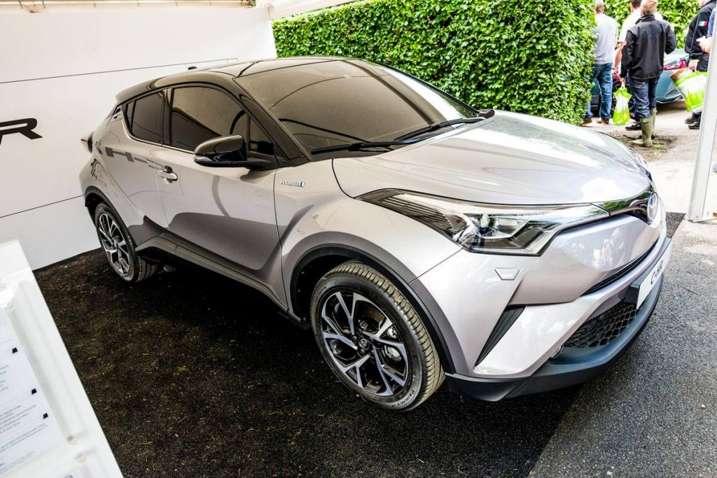Toyota C-HR Compact SUV Showcased At Goodwood FOS