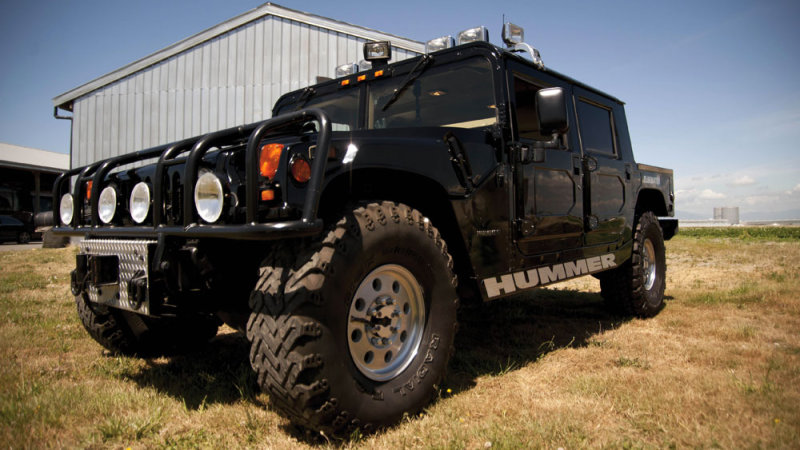 Picture Yourself Rolling In Tupac Shakur's 1996 Hummer