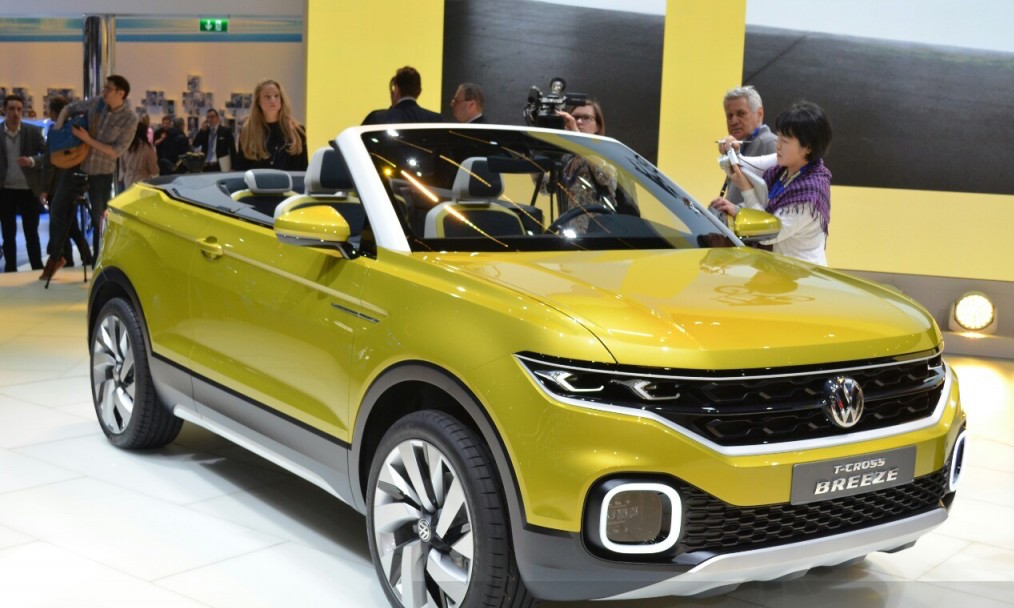 Volkswagen T-Cross Breeze Is A New CUV Disguised As A Convertible