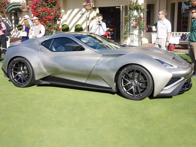 World's First Titanium Supercar Is a Naked Masterpiece