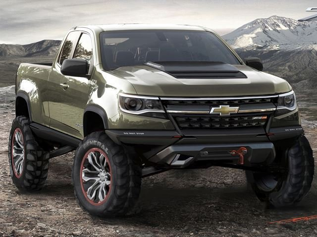 "GM Wants Its Own Hardcore Off-Road Truck; Trademarks ""Z71 Trail Boss"""