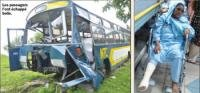 Accident involving NTC bus: the driver suspended