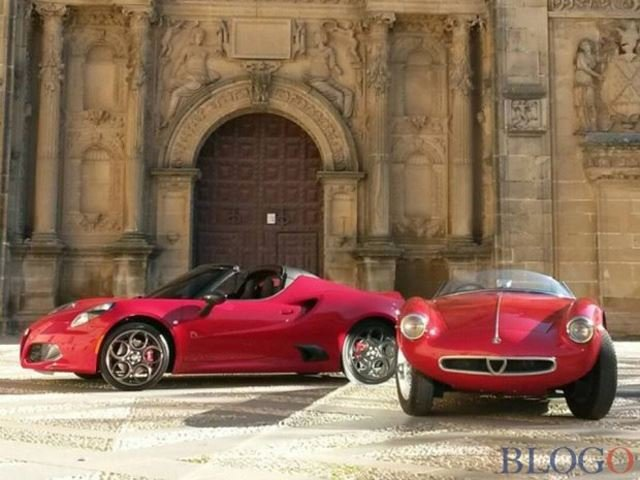Check Out This Totally Undisguised Alfa Romeo 4C Spider