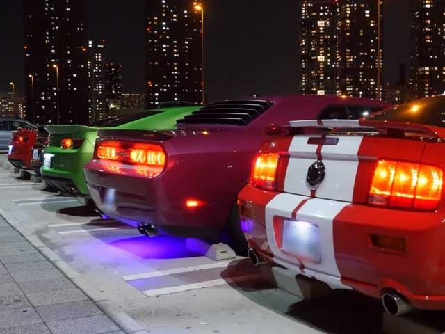 Even the American Muscle Cars in Tokyo Are Insane, and in That Special Tokyo Way