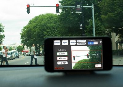App Deals With Red Traffic Lights