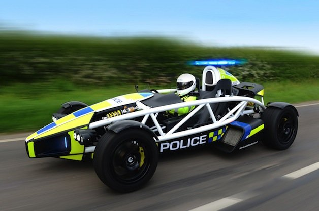 A Few of the Coolest Police Cars on the Planet