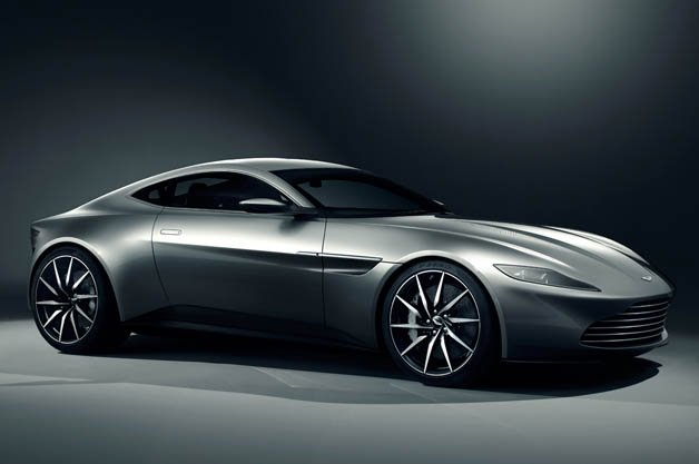 Aston Martin Pens New DB10 for James Bond