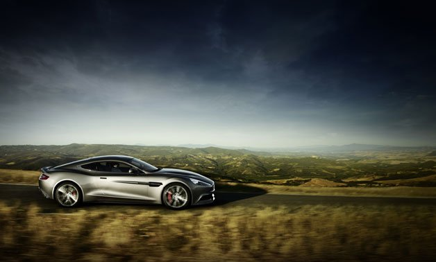 Aston Martin Releases Copious Images Of The Vanquish