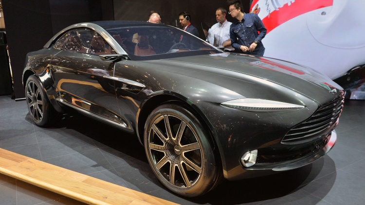 Aston Martin Debuts Electric, All-Wheel-Drive DBX Concept