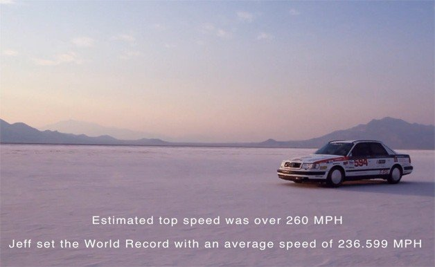 What's It Like To Go Over 418 Km/H In An 20-Year-Old Audi S4? Watch This