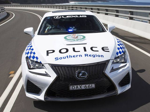 Mad Max Would Be Proud Of Australia's Newest V8 Cop Car