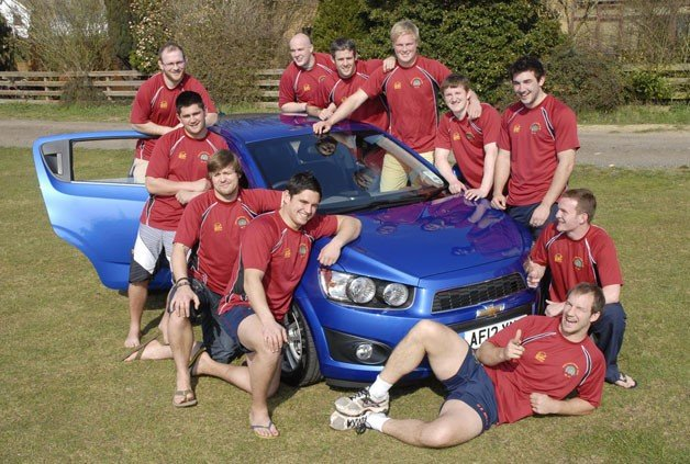 How Many Rugby Players Can You Fit into a Chevrolet Aveo?