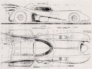 Blueprints to Build Batmobile