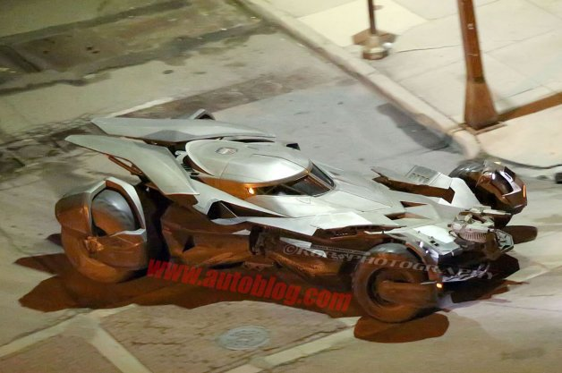 Complete Set of Batmobile Images Snapped on Streets of Detroit