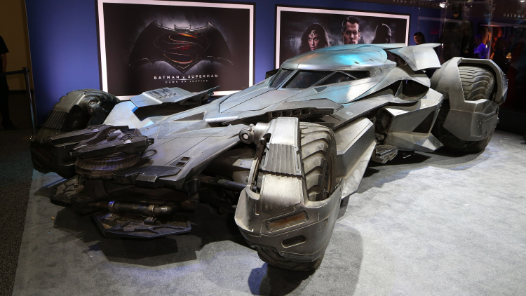 New Batmobile Breaks Cover