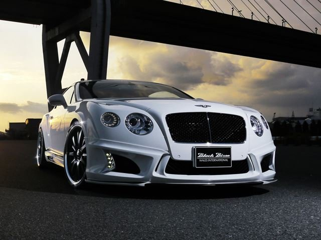 Bentley Continental GT Sports Line Black Bison Edition