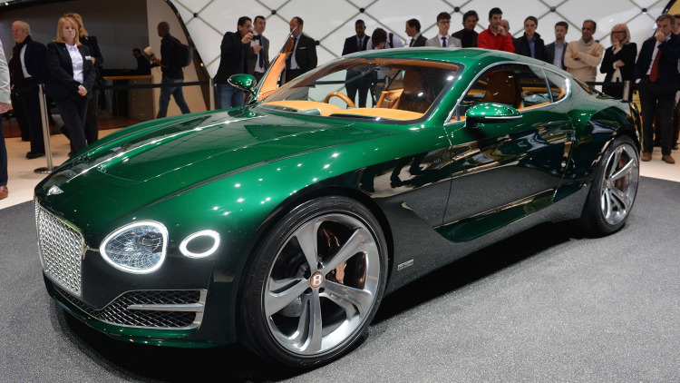 Bentley May Develop 500-hp, All-Electric Sports Car