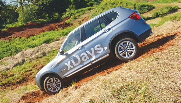 BMW X Days : Sensations Fortes Assurées