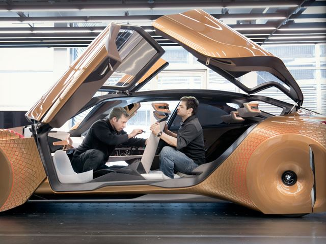 BMW's Vision Next 100 Concept Is A 100th Birthday Present To Itself