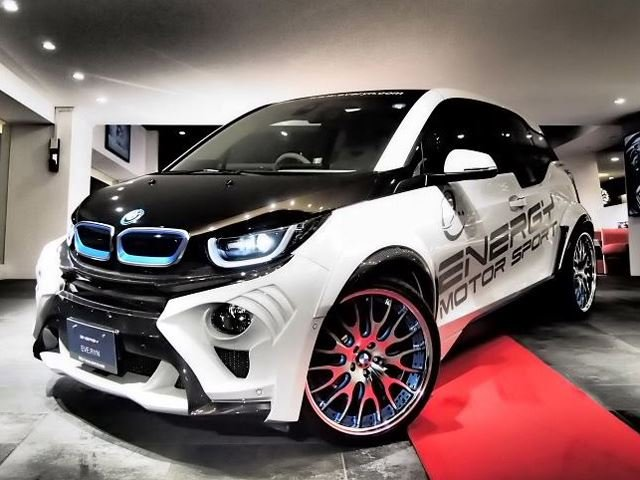 BMW i3 tunined in Japan