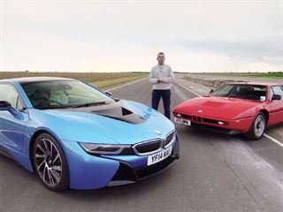 BMW i8 Vs. M1: Modern and Classic BMW Supercars Separated by 30 Years of Evolution