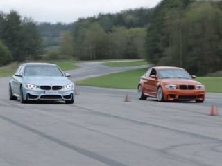 BMW F80 M3 Vs. 1M Coupe