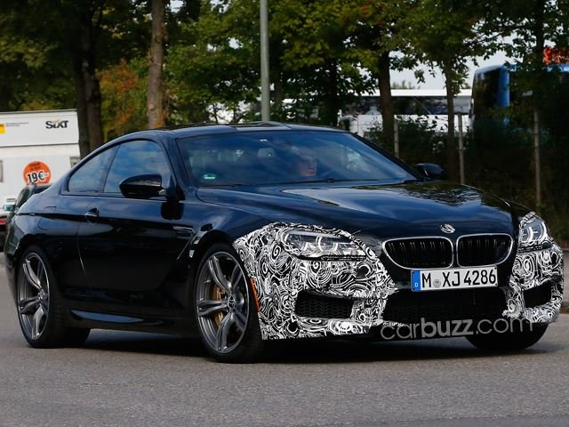 BMW M6: Facelift in the Making