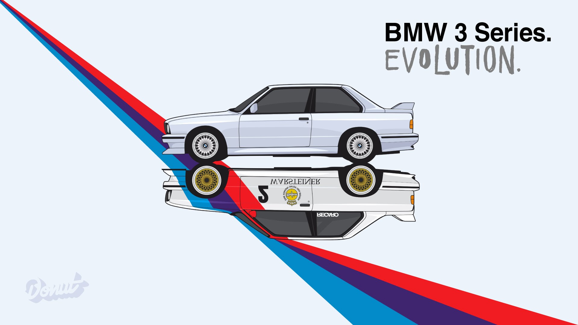 See The BMW 3 Series Morph Through History In This Animation