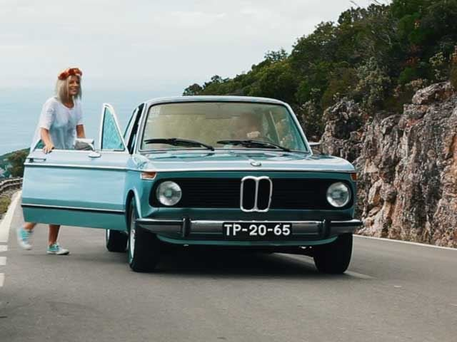 An Old BMW 2002tii Is the Perfect Thing for Rescuing Stranded Hippie Surfer Girls