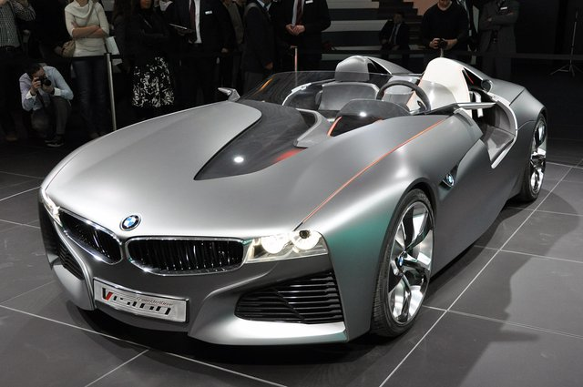 BMW unveils its Vision ConnectedDrive Concept at 2011 Geneva Auto Show