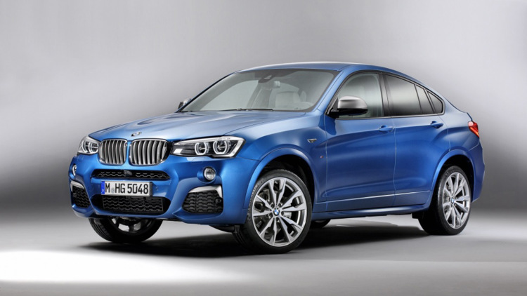 BMW X4 M40i Leaks Ahead of LA Auto Show