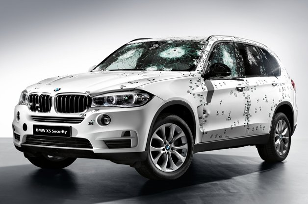 BMW Reveals New X5 Security Plus in Moscow