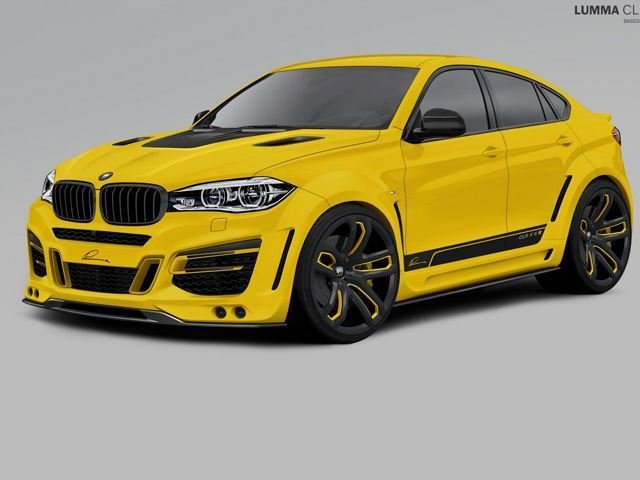 Lumma Design Wants 33,000 Euros to Cover Your BMW X6 in This Ridiculous Body Kit
