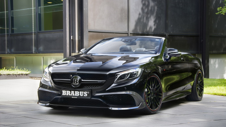 Brabus Unveils The World's Fastest, Most Powerful Cabriolet
