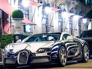 One-Off Bugatti Veyron L'Or Blanc Seen Cruising the Streets of Monte Carlo