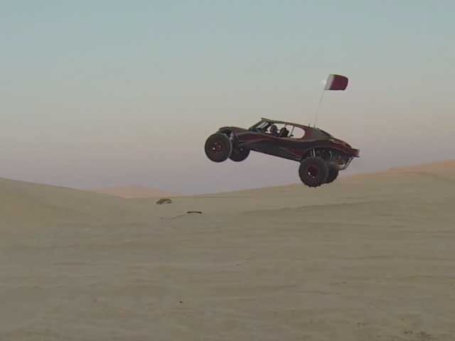 This Crazy Fast 700-Horsepower Luxury Dune Buggy Will Cost You Ferrari Mone
