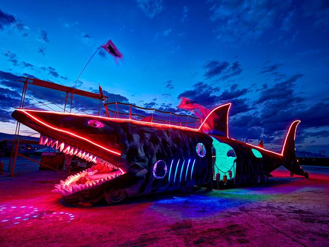 These Were Some of the Best Art Cars at Burning Man 2015