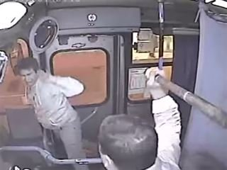 Vigilante Bus Driver Beats Robber into Submission with a Mini Bat