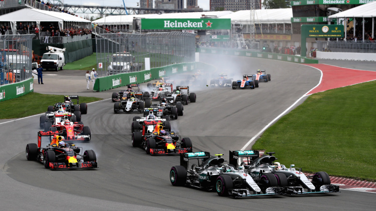 2016 Canadian Grand Prix: A Tale Of 3 Starts And 2 Stops