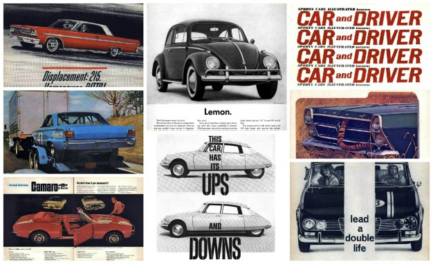 Advertising the 1960s: 40 Excellent Car Ads from the Swinging Sixties