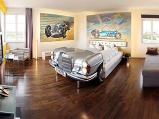 This German Hotel is a Car-Lover's Dream